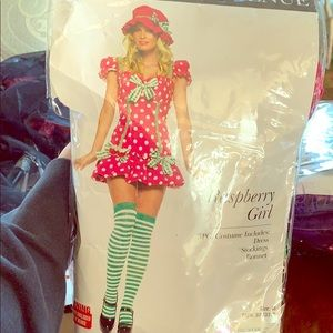 Raspberry Girl Costume